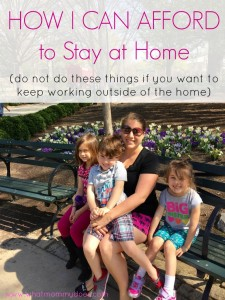 DO NOT do these things if you want to keep working. Only do them if you want to become a stay at home mom and spend more time with your kids