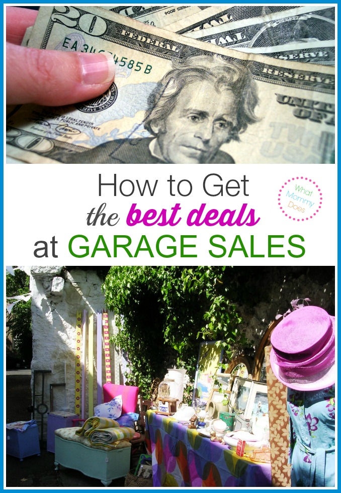How to Get the Best Deals at Yard Sales