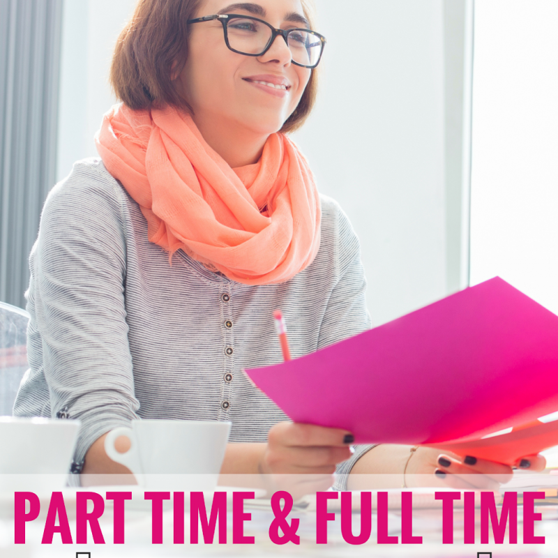 Part-Time & Full-Time Work From Home Jobs for Moms