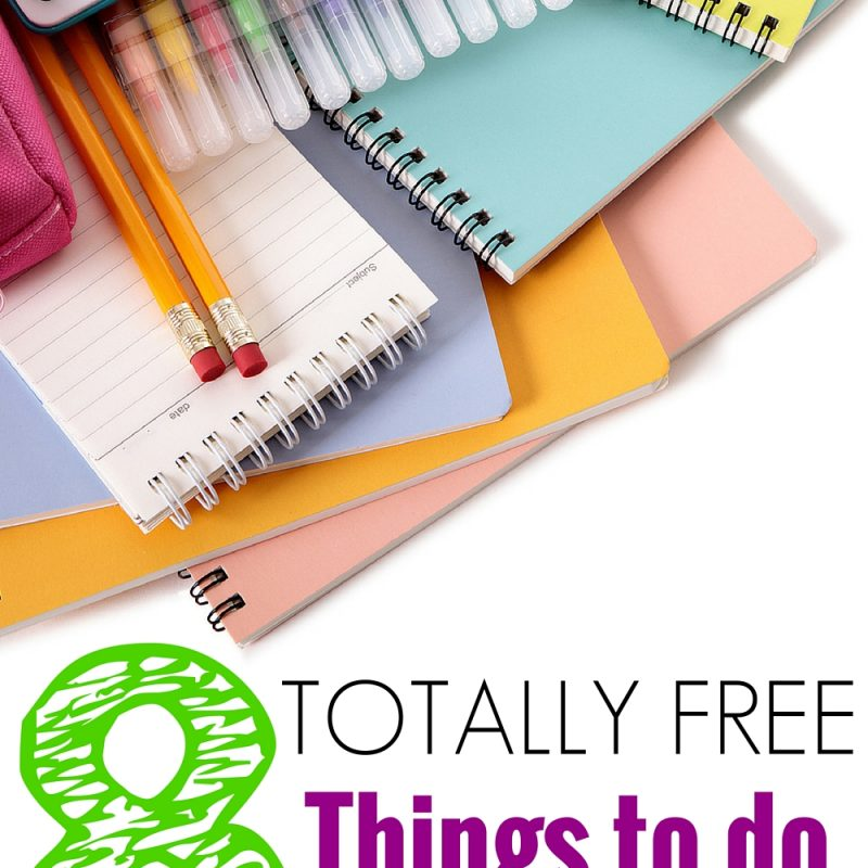 FREE KIDS ACTIVITIES – 8+ NO COST THINGS TO DO WITH YOUR CHILDREN