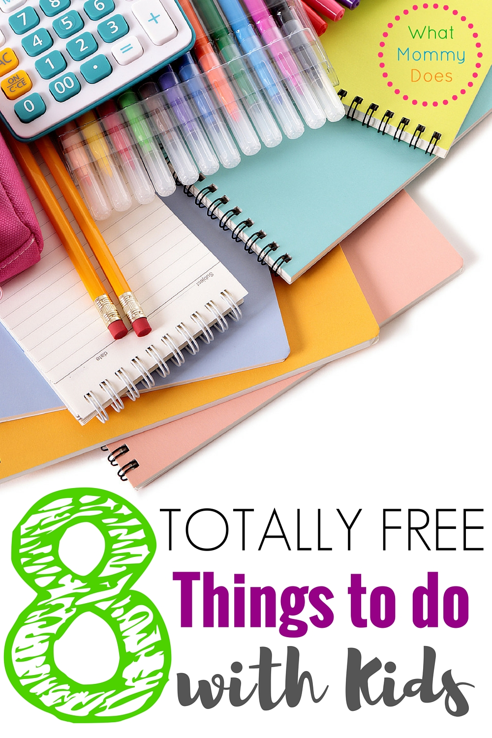 8  no cost things to do with your kids