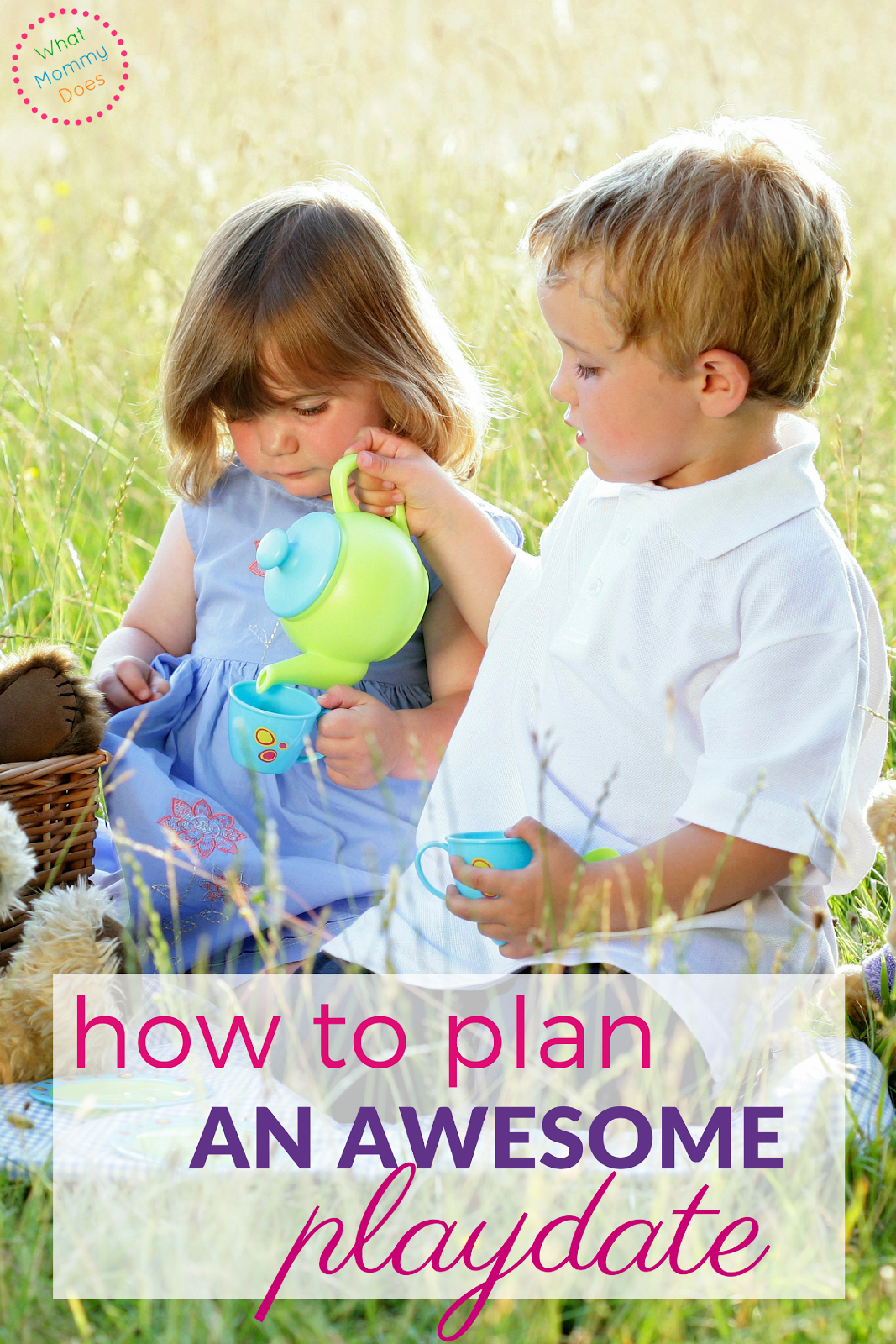 How to Plan an Awesome Playdate - Learn the tips and tricks you need to have a successful playdate for your children and their friends!