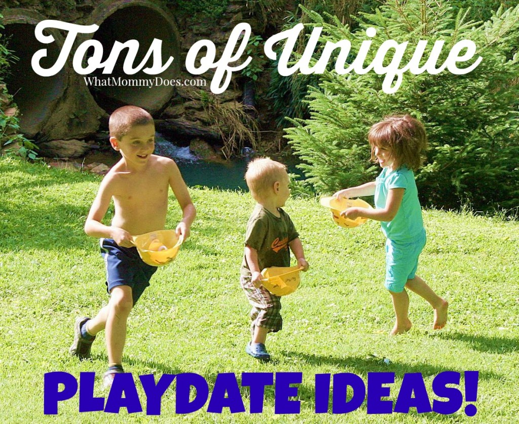 example playdate ideas - what can the kids do for fun2