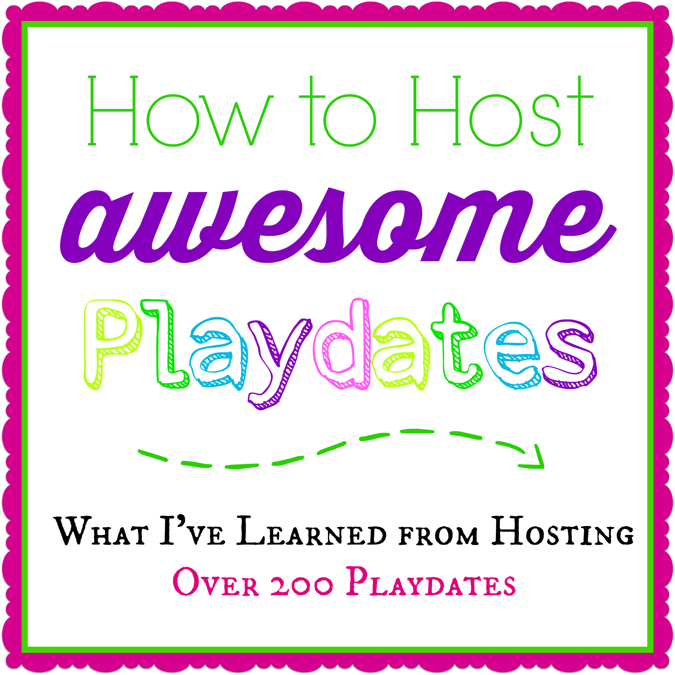 How to host a successful playdate playdate hosting tips ideas fandeluxe Epub