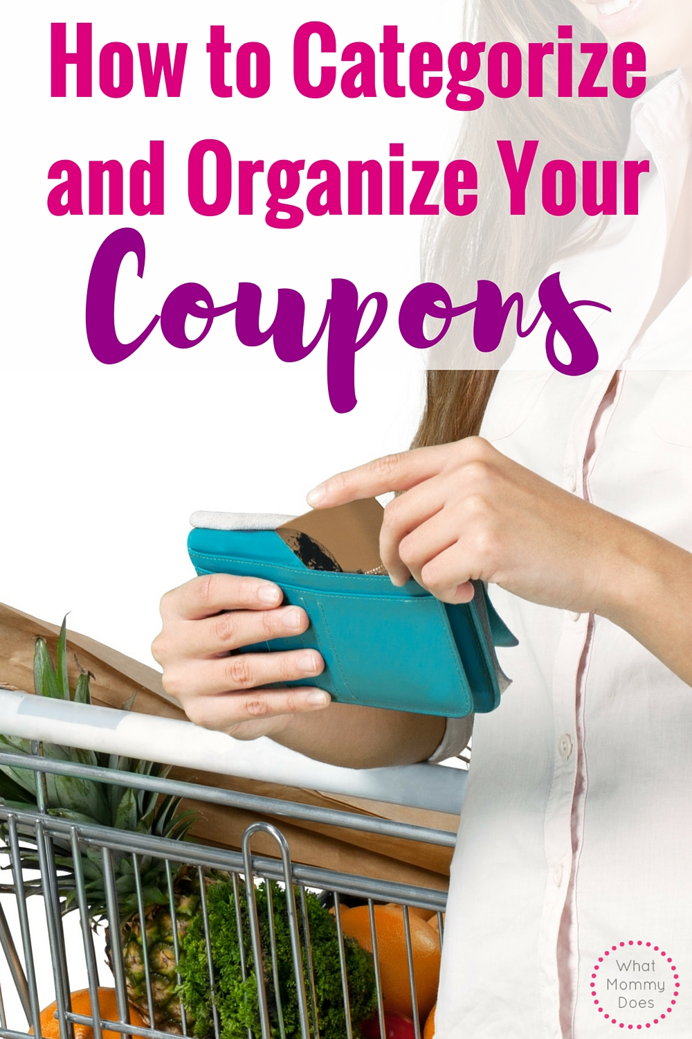 Wow, this coupon organizer categories list makes it easy to organize your coupons before every trip to the grocery store!