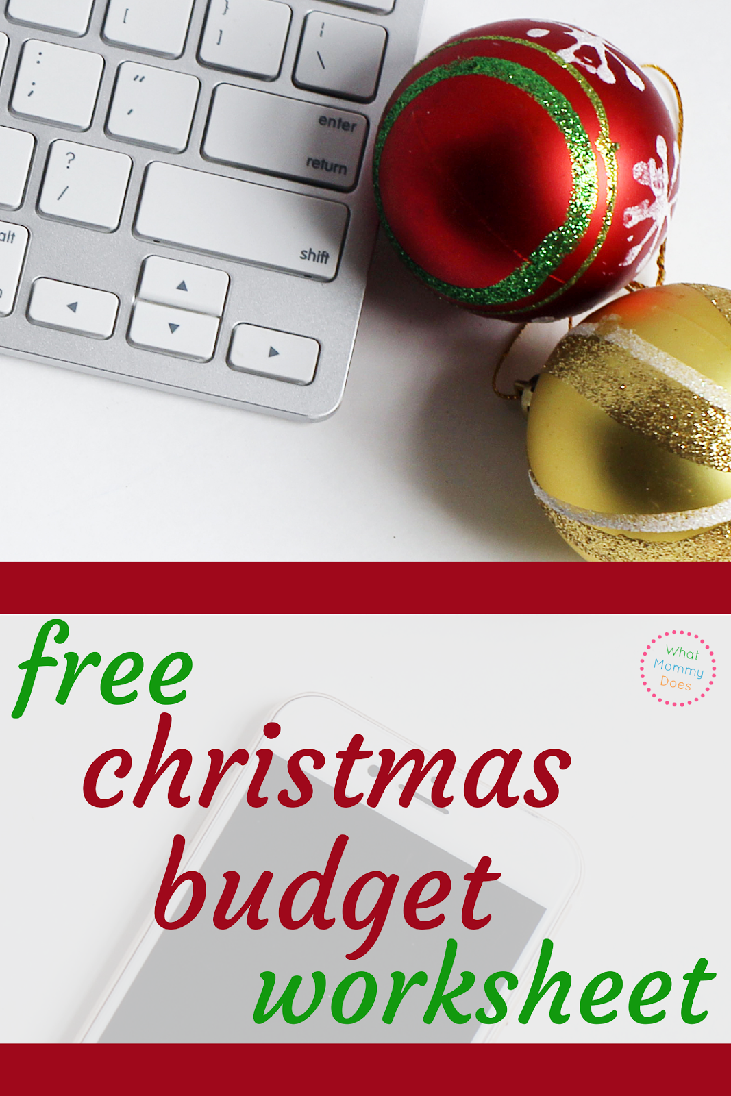 free christmas budget worksheet what mommy does