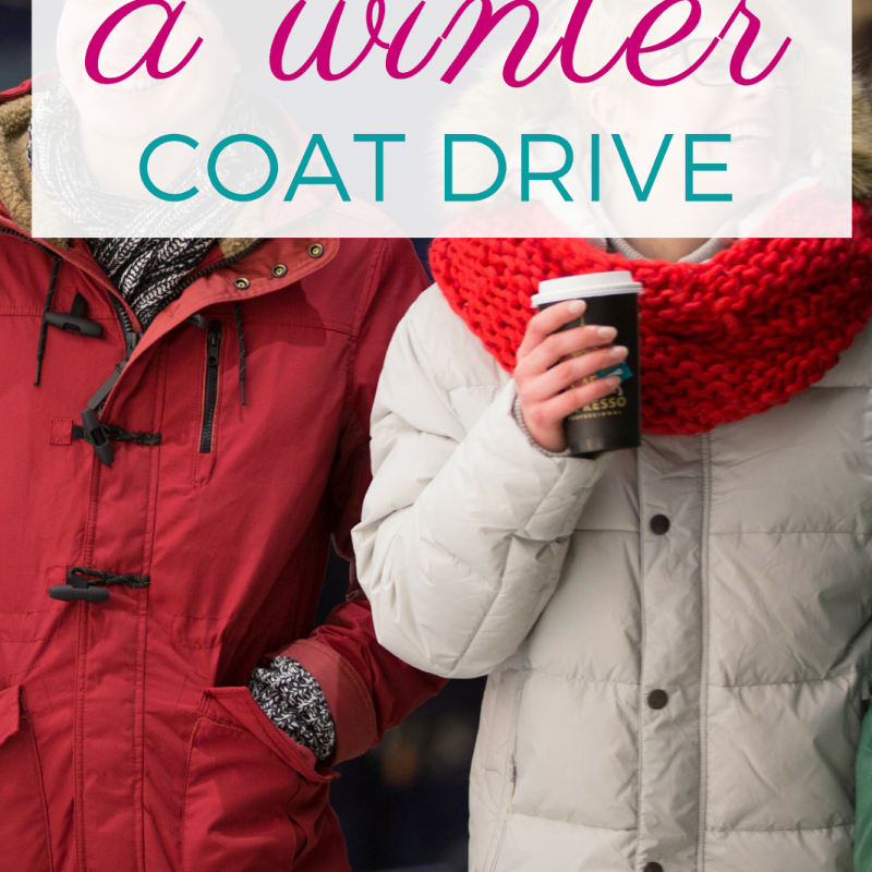 Winter Coat Drive - one of the warmest ideas for helping others in need! Find out how to hold one in your city!