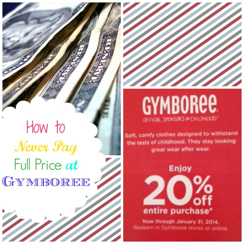 Gymboree Coupons – The Secret to Always Having a Coupon on Hand!