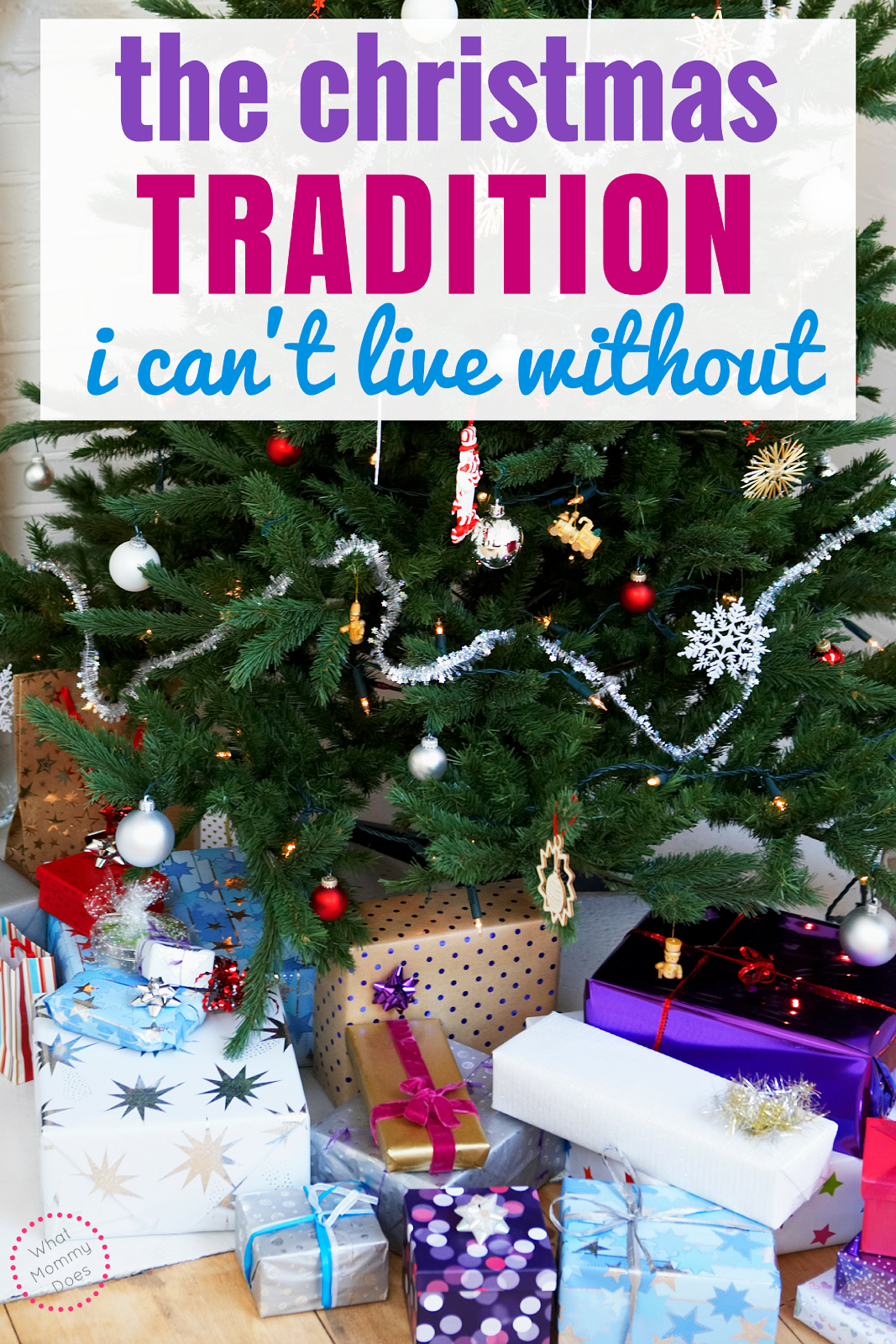 A Frugal Christmas Tradition I Can\'t Live Without | What Mommy Does