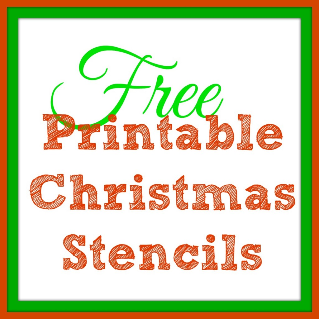Fabulous image for free printable christmas templates