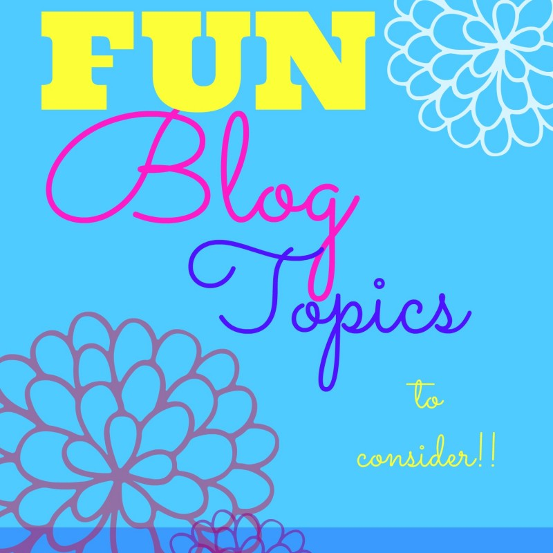 What to Blog About – 5 Unique Blog Ideas