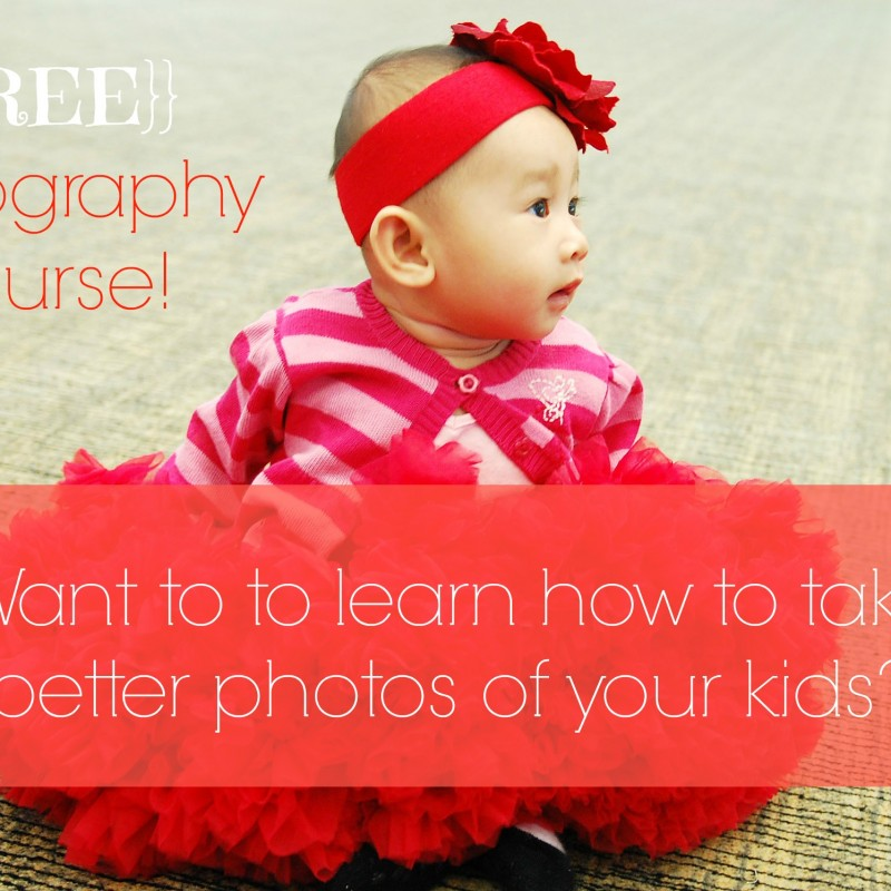 {{FREE}} Family Photography Classes with Craftsy!