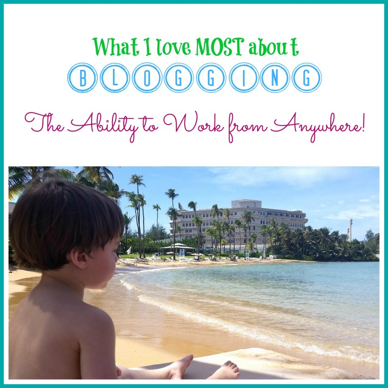 What I Love About Blogging