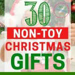 If you are tired of toys piling up everywhere, you'll LOVE this list of 30 Christmas gifts that ARE NOT TOYS!