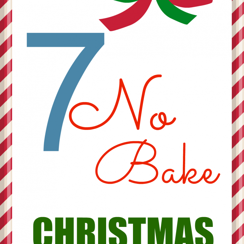 7 No Bake Christmas Cookies