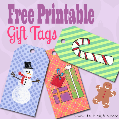 Free Printable Christmas Gift Tags | What Mommy Does