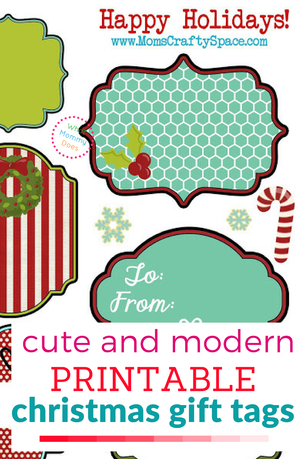 This is an image of Decisive Cute Gift Tags Printable
