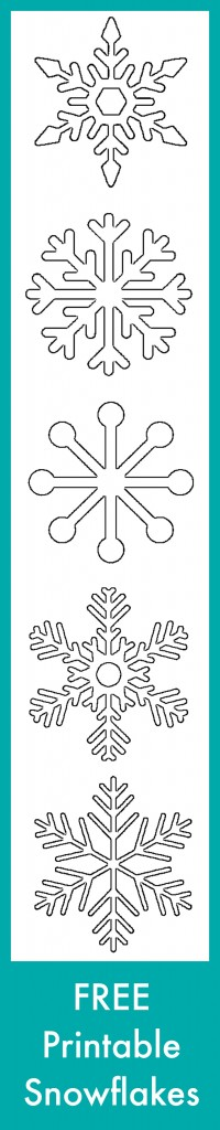 Monster image intended for free printable snowflakes