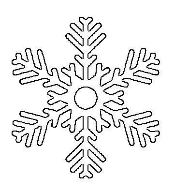 It's just a photo of Intrepid Snowflake Cutouts Printable