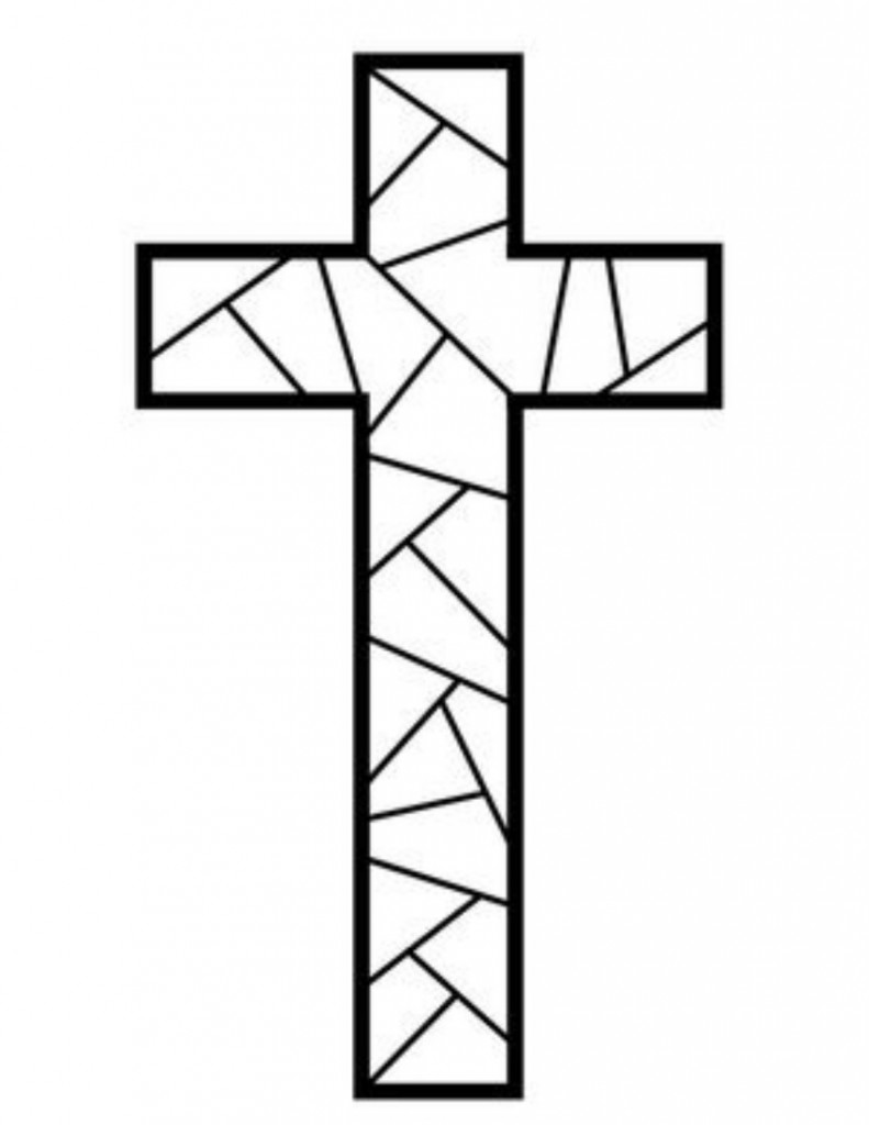 cross coloring page 2 - Coloring Page Printable