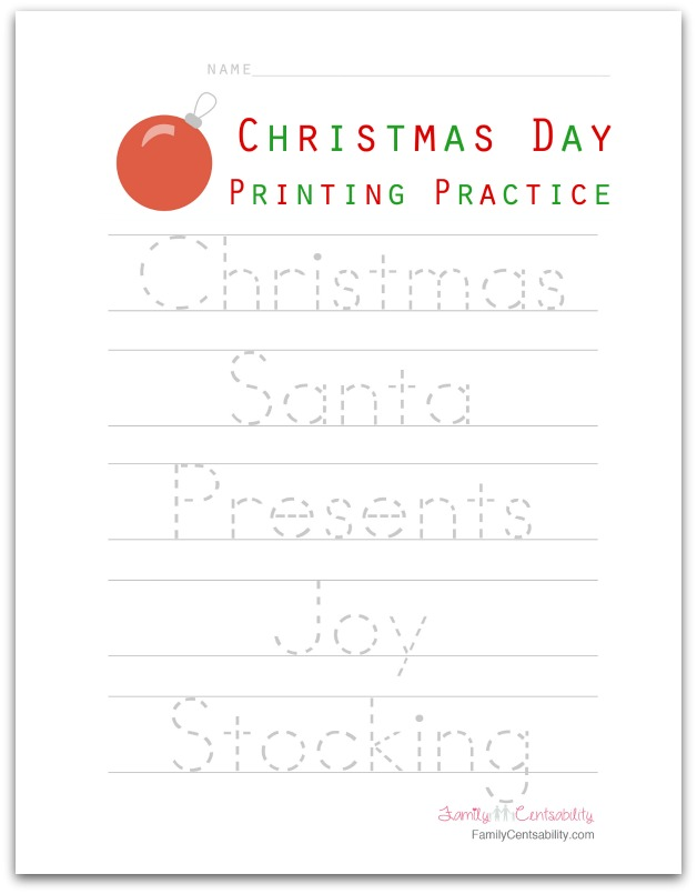 Christmas Themed Crafts Games Activities For Kids What Mommy Does. Family Centsability Printingpracticechristmasday. Worksheet. Christmas Worksheet Craft At Mspartners.co