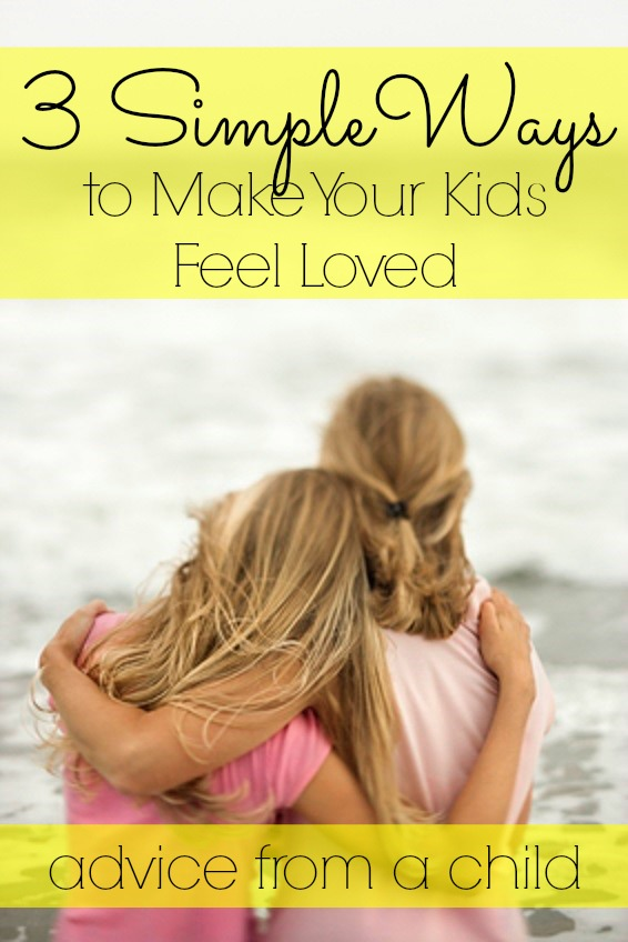 how to show your kids you love them