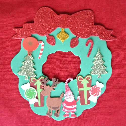 Jenny Evolution Christmas Wreath Craft
