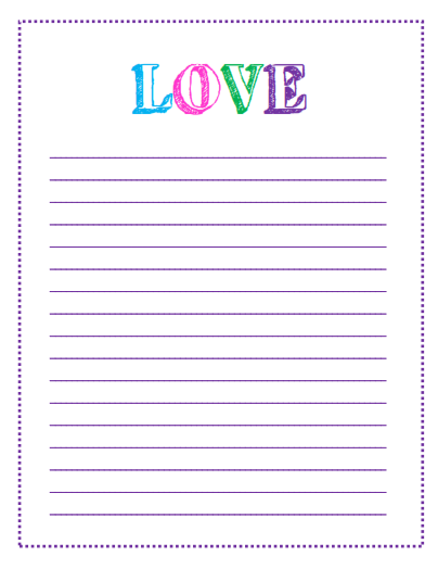hope you like these lined papers as much as I do. If there is ...