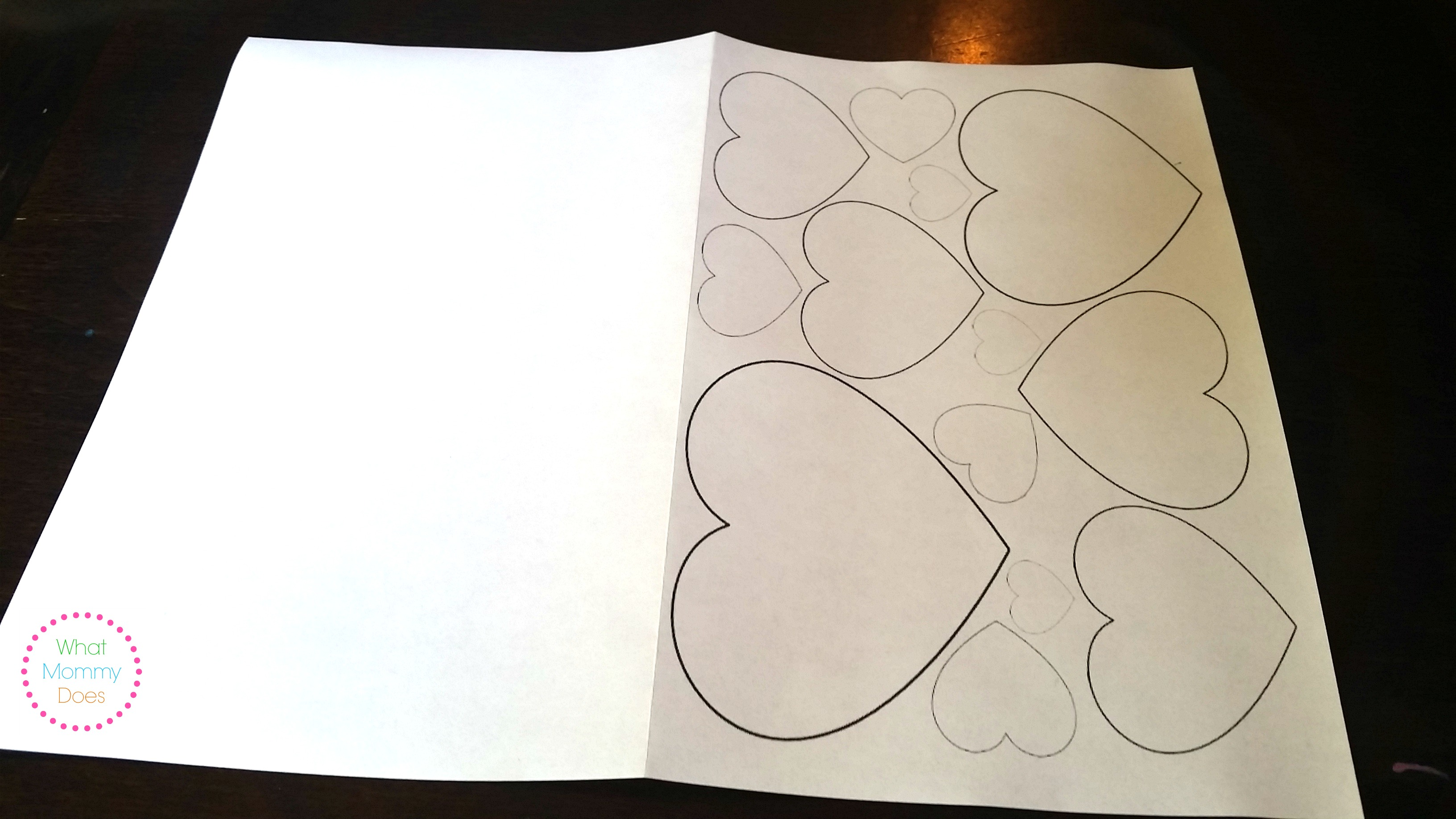 free printable valentine u0027s day card to color heart pattern