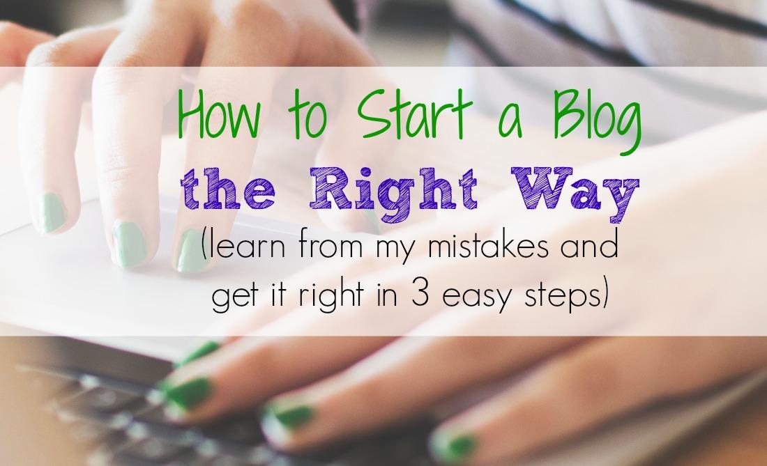 laptop mom start a blog Facebook