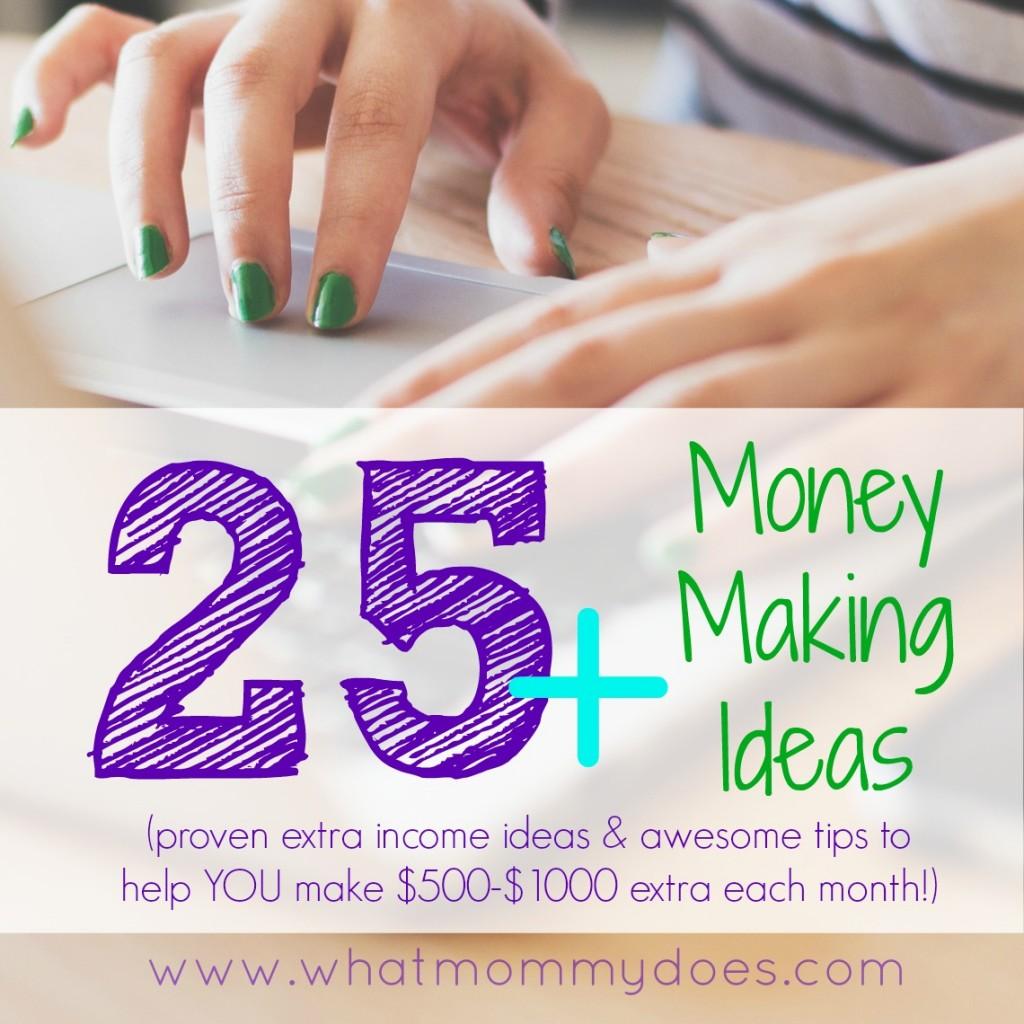 money making ideas facebook
