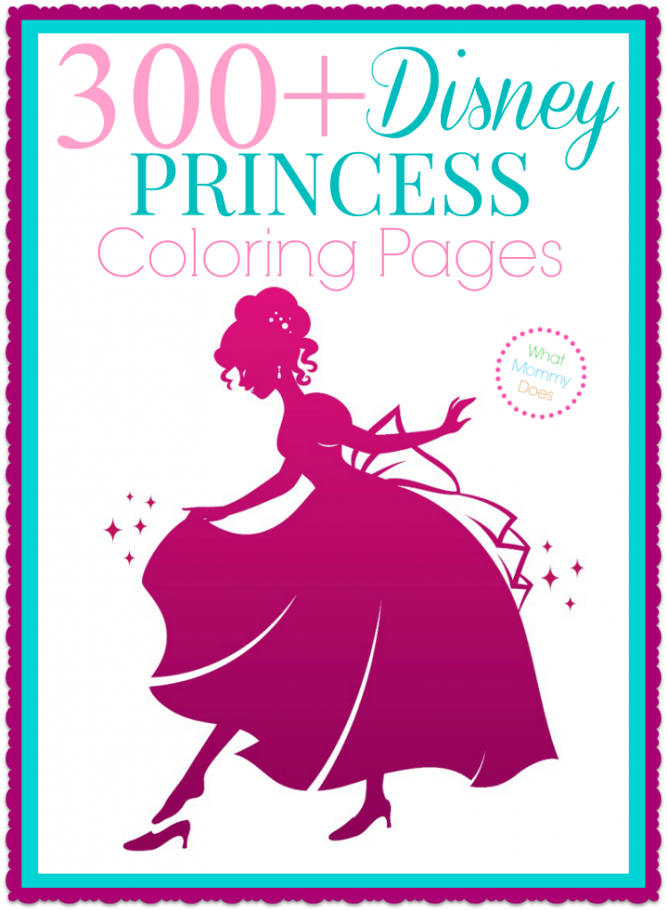 300 free printable disney princess coloring pages - Disney Princess Coloring Pages To Print For Free