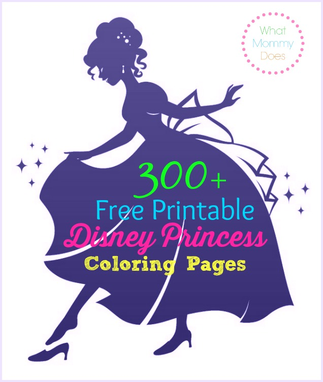 300 free printable disney princess coloring pages to print out - Disney Princess Coloring Pages To Print For Free