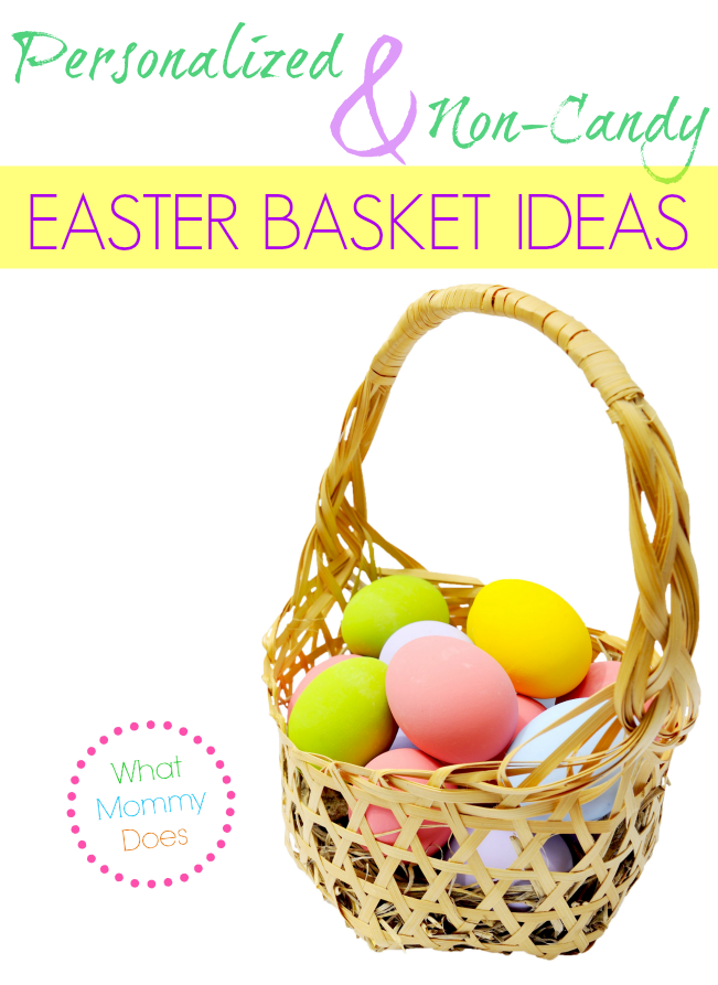 Non candy personalized easter gift ideas non candy easter basket ideas negle Choice Image