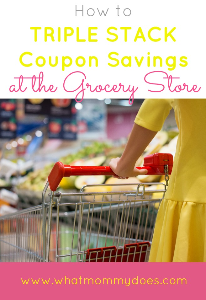 How to Triple Stack Coupon Savings at the Grocery Store