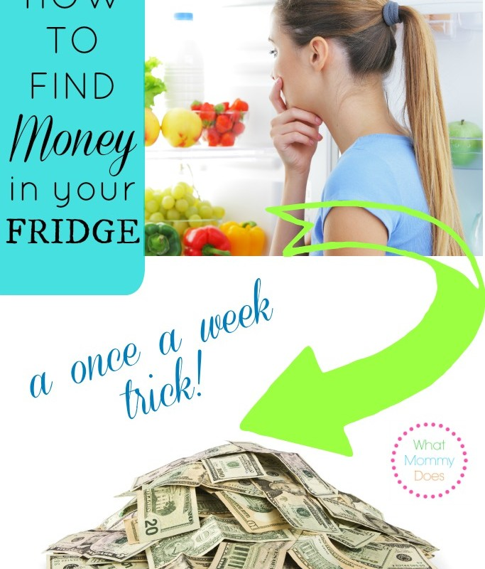 How to Find Money in Your Fridge
