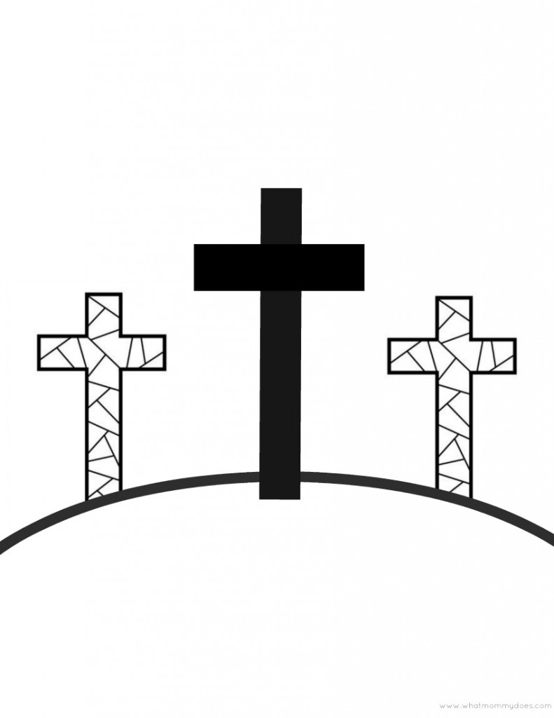 Sly image in printable crosses