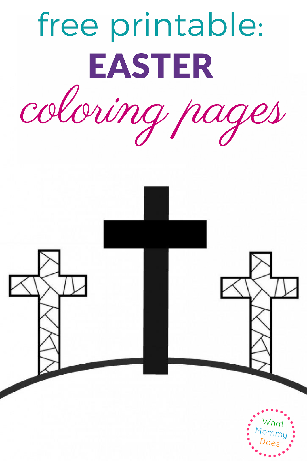 Religious Easter Coloring Pages. Christian Easter Coloring Pages ...