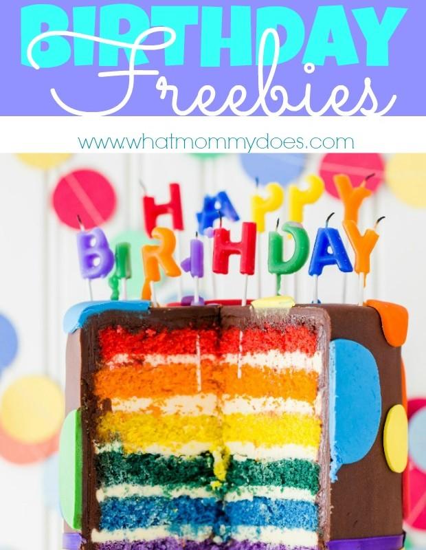 100 Birthday Freebies – Get Free Stuff on Your Birthday!