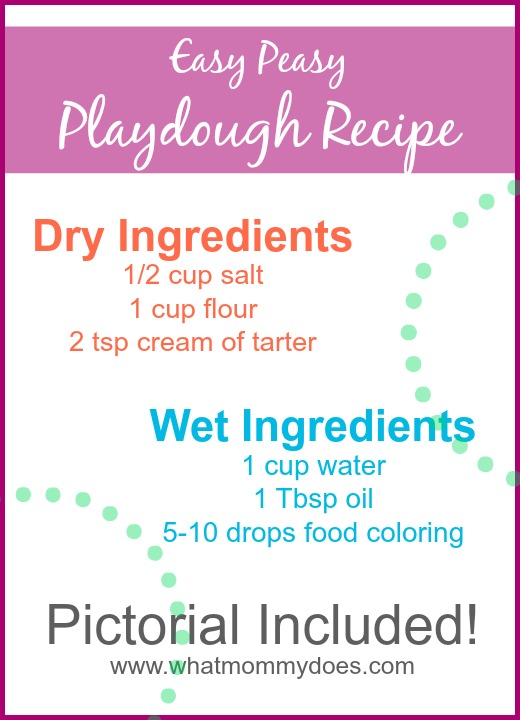 easy peasy playdough tutorial with pictures to explain