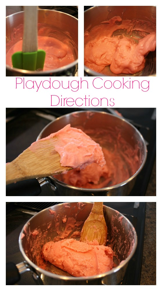 playdough cooking instructions with pictures