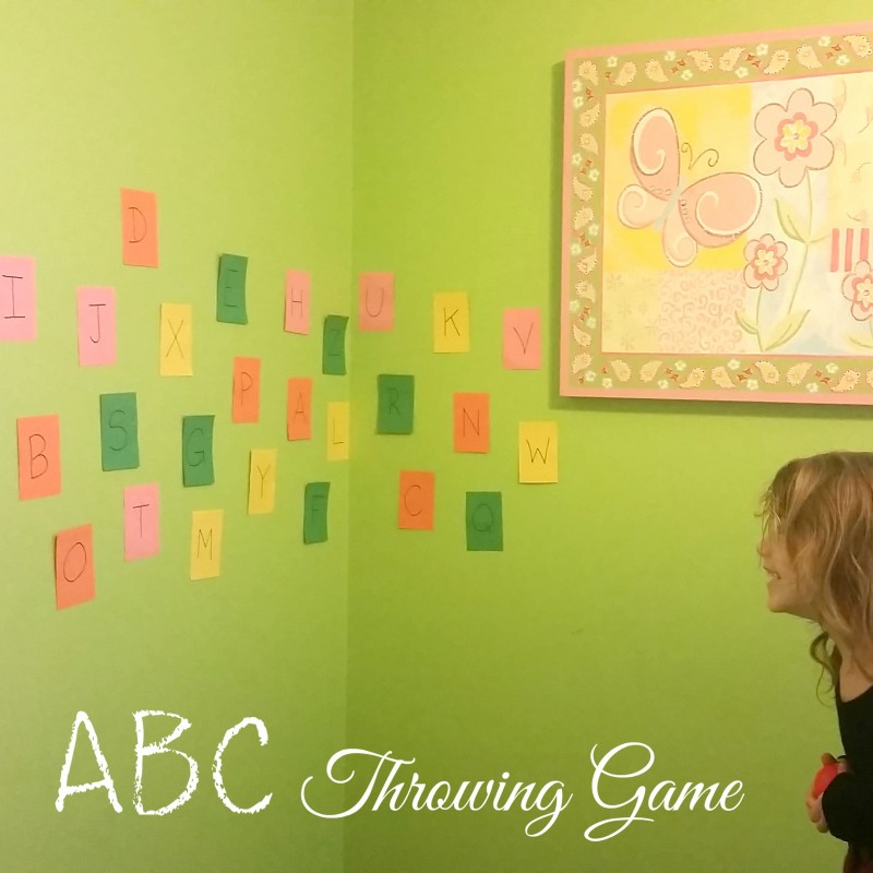 ABC Throwing Game