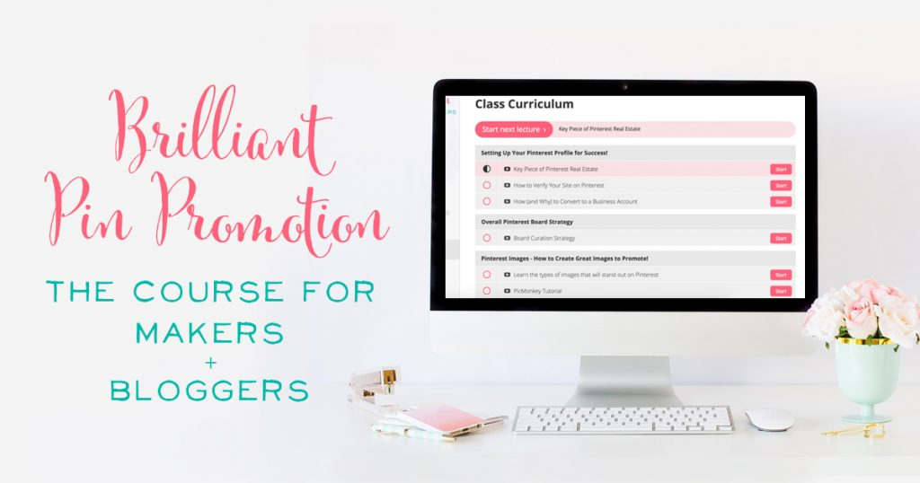 brilliant-pin-promotion best pinterest course for advanced bloggers