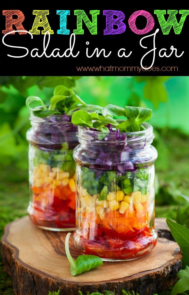Rainbow Salad in a Jar final
