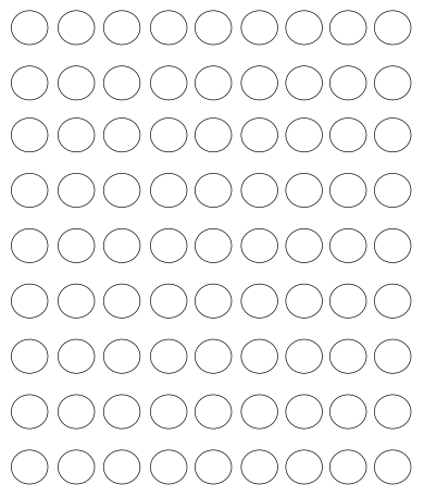 printable circle dots free template
