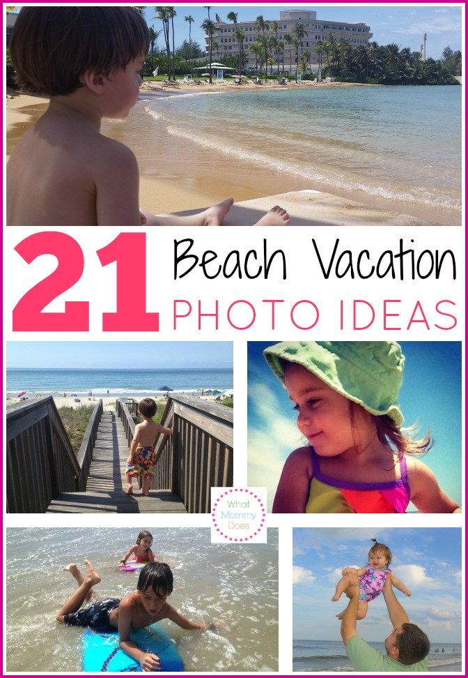 21 Kids Beach Picture Ideas - Capture all the summer kids beach activities on your family vacation! Here are some family beach vacation photo ideas with baby, toddlers, older kids to get your imagination going