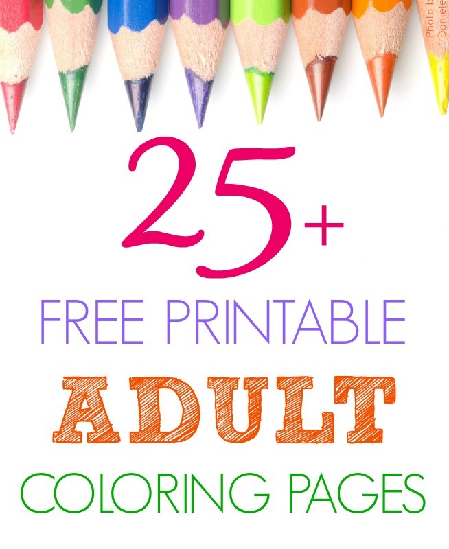 Free Printable Adult Coloring Pictures