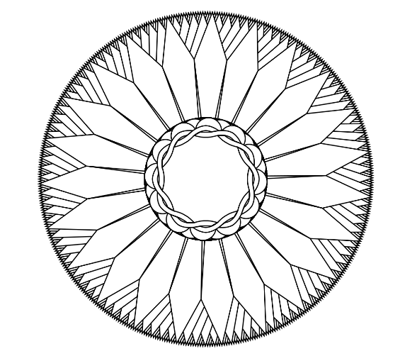 How to make your own mandala coloring pages for free for Make your own coloring pages for free
