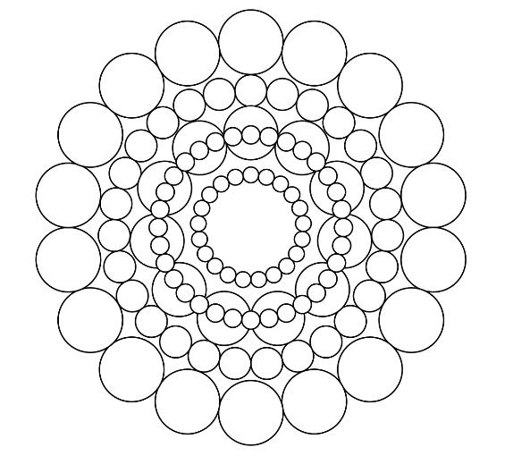 Mandala coloring page 3