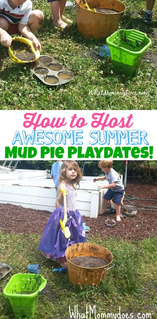Summer Activity Idea - Mud Pie Playdates